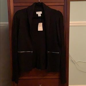 NWT Black long sleeve cardigan